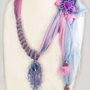 Просто шарфики... Идея Татьяны Ван Итен и моё скромное исполнение.
