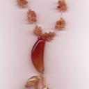 сердоликовый кулончик