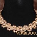 Ожерелье с розовым жемчугом